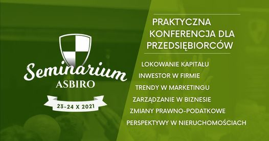 Seminarium ASBiRO 23-24 pa\u017adziernika 2021