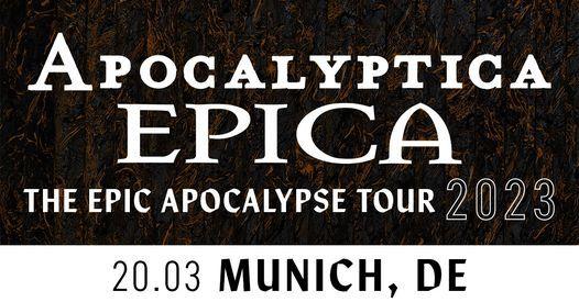 Neuer Termin: Apocalyptica & Epica \u2013 M\u00fcnchen, TonHalle