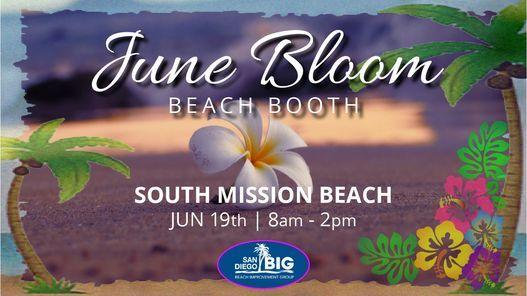 June Bloom Beach Booth