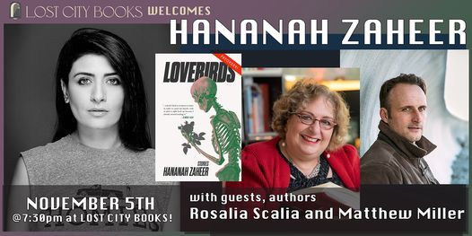 Lovebirds by Hananah Zaheer with guests Rosalia Scalia and Matthew Miller