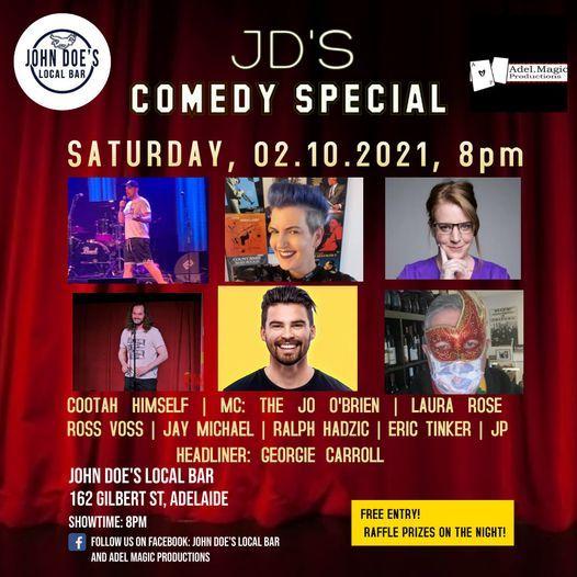 John Doe's Comedy Special - Act 2