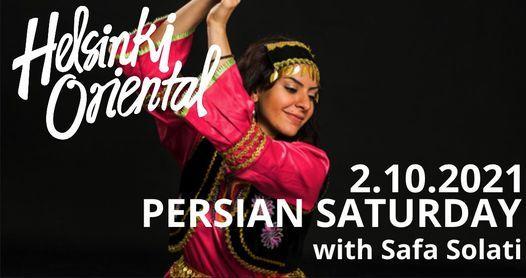 Helsinki Oriental Persian Saturday with Safa Solati