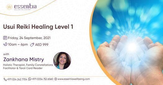 Usui Reiki Healing Level 1 with Zankhana Mistry