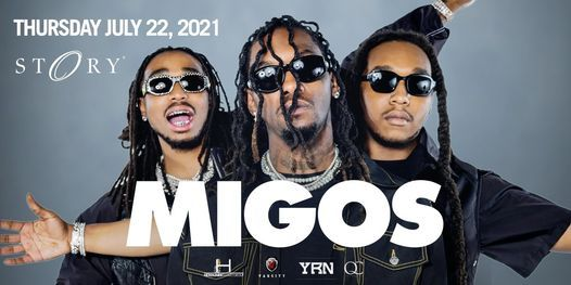 Migos - Thurs. July 22nd