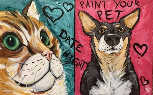 Paint Your Pet Painting With A Twist Austin 14 February 2021