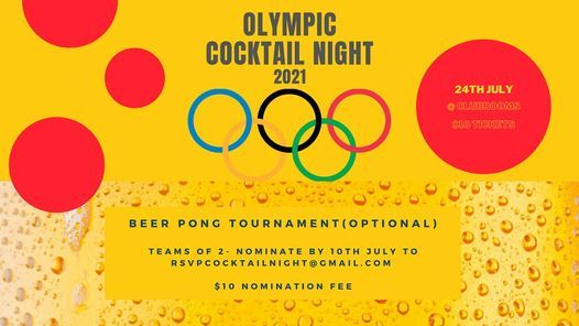 RAIDERS 2021 OLYMPIC THEMED COCKTAIL PARTY
