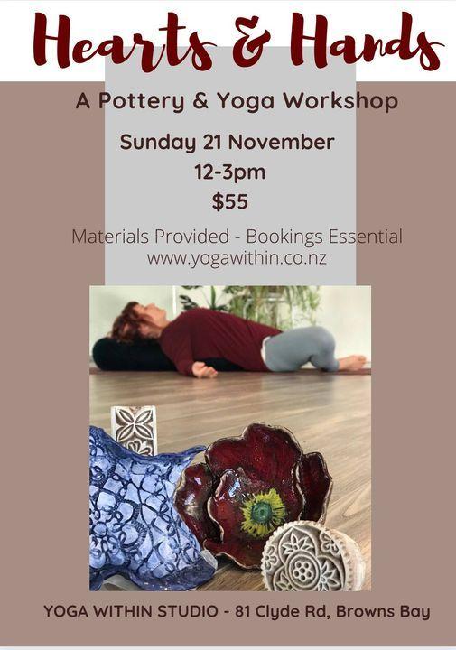 Yoga & Pottery Workshop