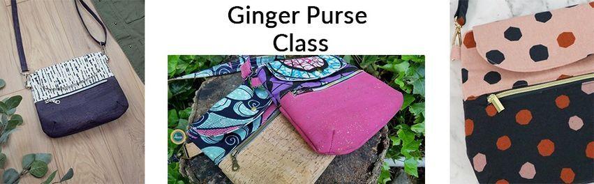 Ginger Purse Class