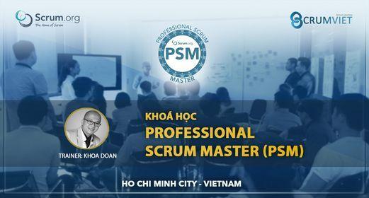 Kho\u00e1 H\u1ecdc Professional Scrum Master (PSM) - th\u00e1ng 10 2021