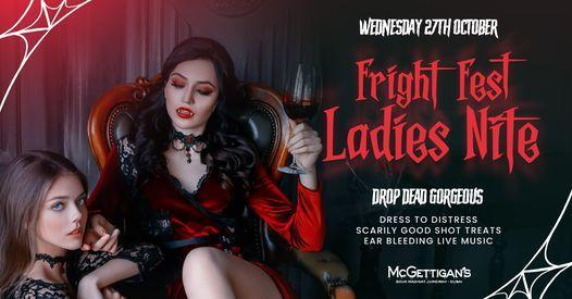 Fright Fest Ladies Night