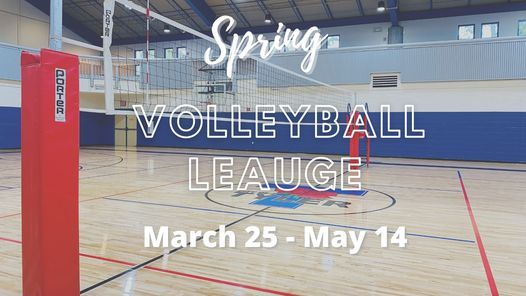 Spring Volleyball League Glass Recreation Center Tyler 25 March 2021