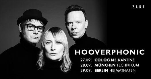 Hooverphonic | Berlin, Heimathafen Neuk\u00f6lln | 29.09.2021