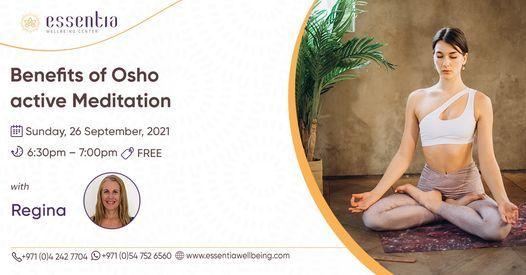Free Talk: Benefits of Osho active Meditation with Regina