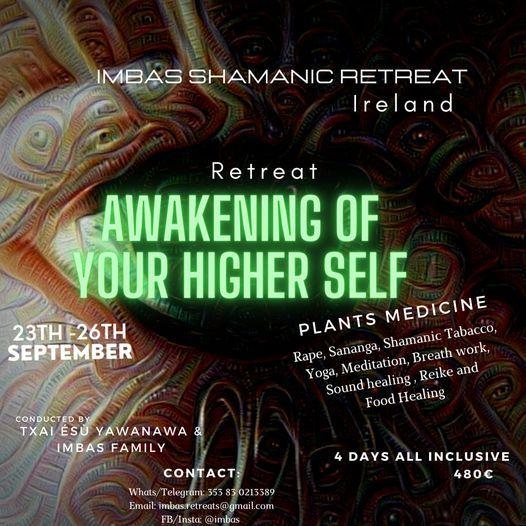 Imbas  Retreat  awakening the higher self