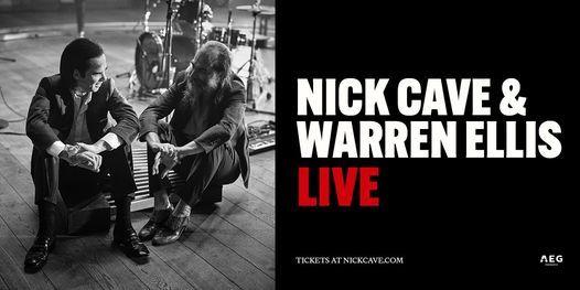 Nick Cave & Warren Ellis - 2021 Tour - Koninklijk Theater Carr\u00e9, Amsterdam