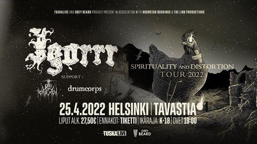 Igorrr \/ Tavastia, Helsinki 23.11.2021