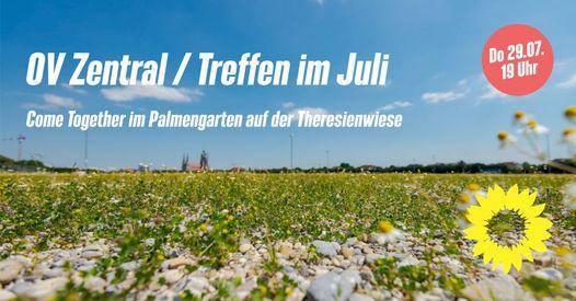 OV Treffen im Juli: Come Together im Palmengarten auf der Theresienwiese