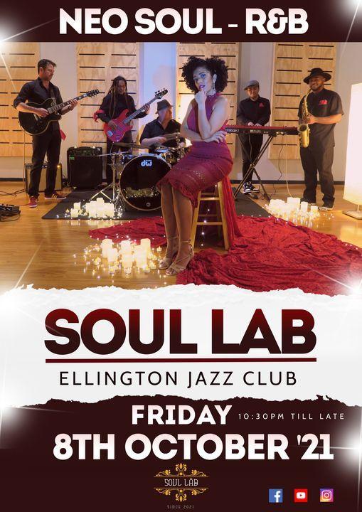 Soul Lab - Live @ The Ellington Jazz Club 8th OCT
