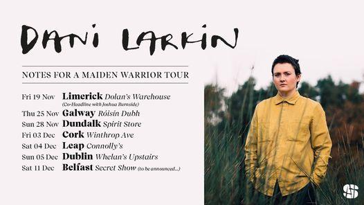 Dani Larkin \/ Whelan's Dublin
