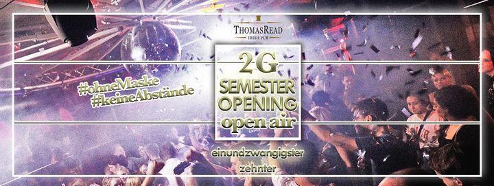 Semester Opening   2G Open Air   Thomas Read