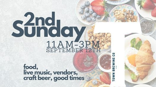 Second Sunday~food, live music, vendors, craft beer, and good times.