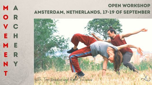 Open Workshop - Amsterdam - w\/Tom Weksler & Roser Tutusaus