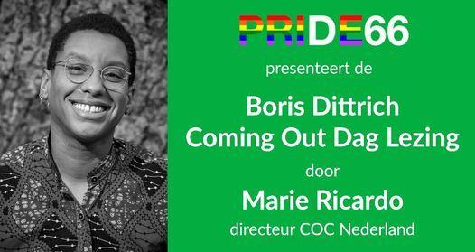 Boris Dittrich Coming Out Dag Lezing 2021