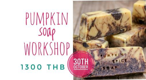 Pumpkin Soap MAKING workshop