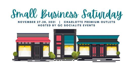 Small Business Saturday Pop Up Weekend!