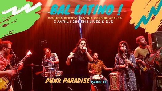 Bal Latino \u00e0 Paris : Cumbia, Salsa, Caribe & Afro-Latino !