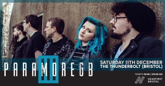 PARAMORE GB at The Thunderbolt (Bristol)