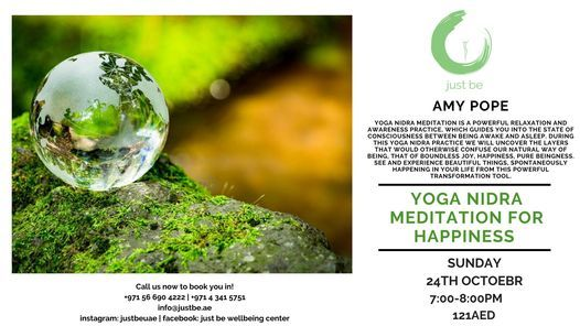 Yoga Nidra Meditation for Happiness