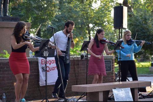 Elegance Quartet In Stephen Girard Park