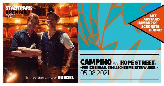 Campino pr\u00e4sentiert: Hope Street \/\/ Hamburg