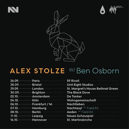 Alex Stolze + Ben Osborn + Bec Garthwaite at Unit 8 Studios