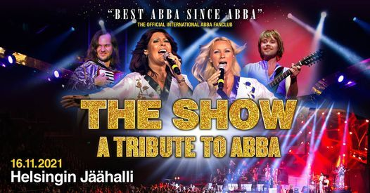 THE SHOW \u2013 a tribute to ABBA 2021