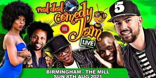 Real Deal Comedy Jam - SummerFest 2021