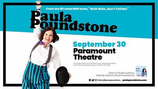 Paula Poundstone at Paramount Theatre