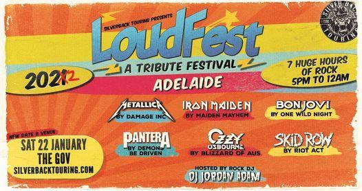 [POSTPONED] Loudfest - A Tribute Festival - Adelaide