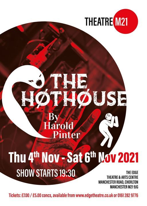 Theatre M21 present The Hothouse