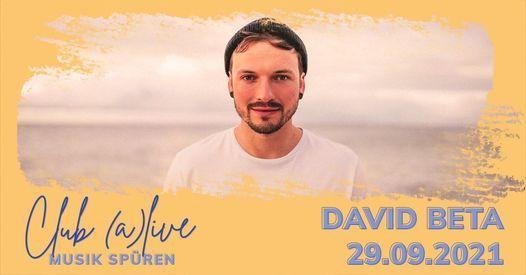 David Beta bei Club (a)live