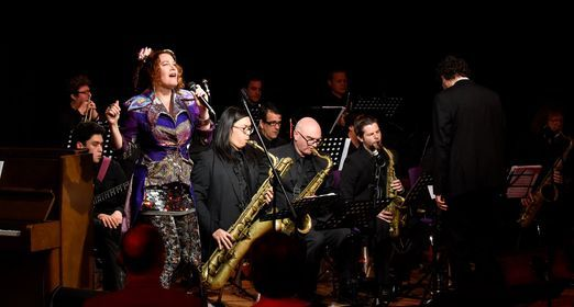 Auckland Jazz Orchestra & Caitlin Smith: East of the Sun