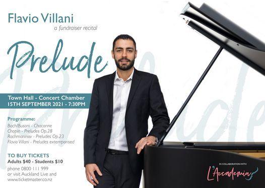 Prelude - Piano Solo.