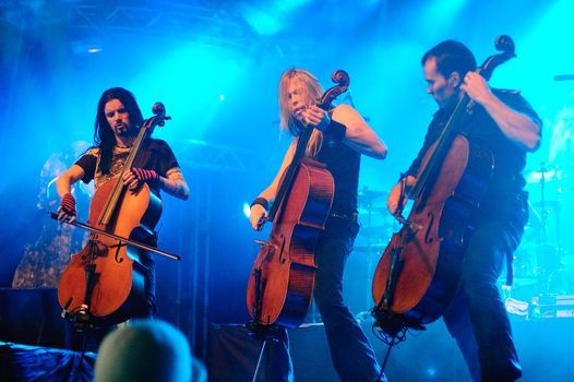 Apocalyptica & Lacuna Coil at Webster Hall, New York, NY