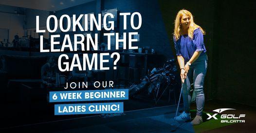 Ladies Beginners Clinic - Monday