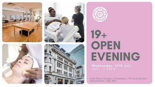 19+ Open Evening