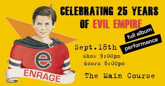 enRage Against The Machine - 25  Years of Evil Empire