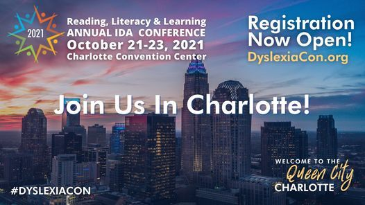 IDA 2021 Annual Reading, Literacy & Learning Conference