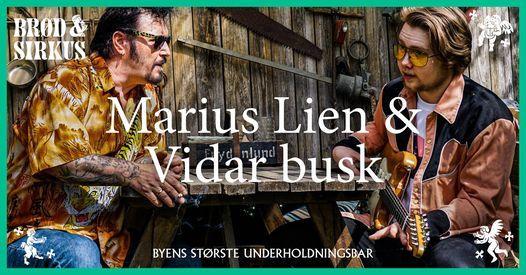 Marius Lien og Vidar Busk p\u00e5 Br\u00f8d & Sirkus