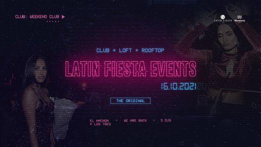 Latin Fiesta Re-Opening